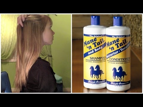 Mane n Tail Shampoo & Conditioner Review (+ Before and After Growth Results)