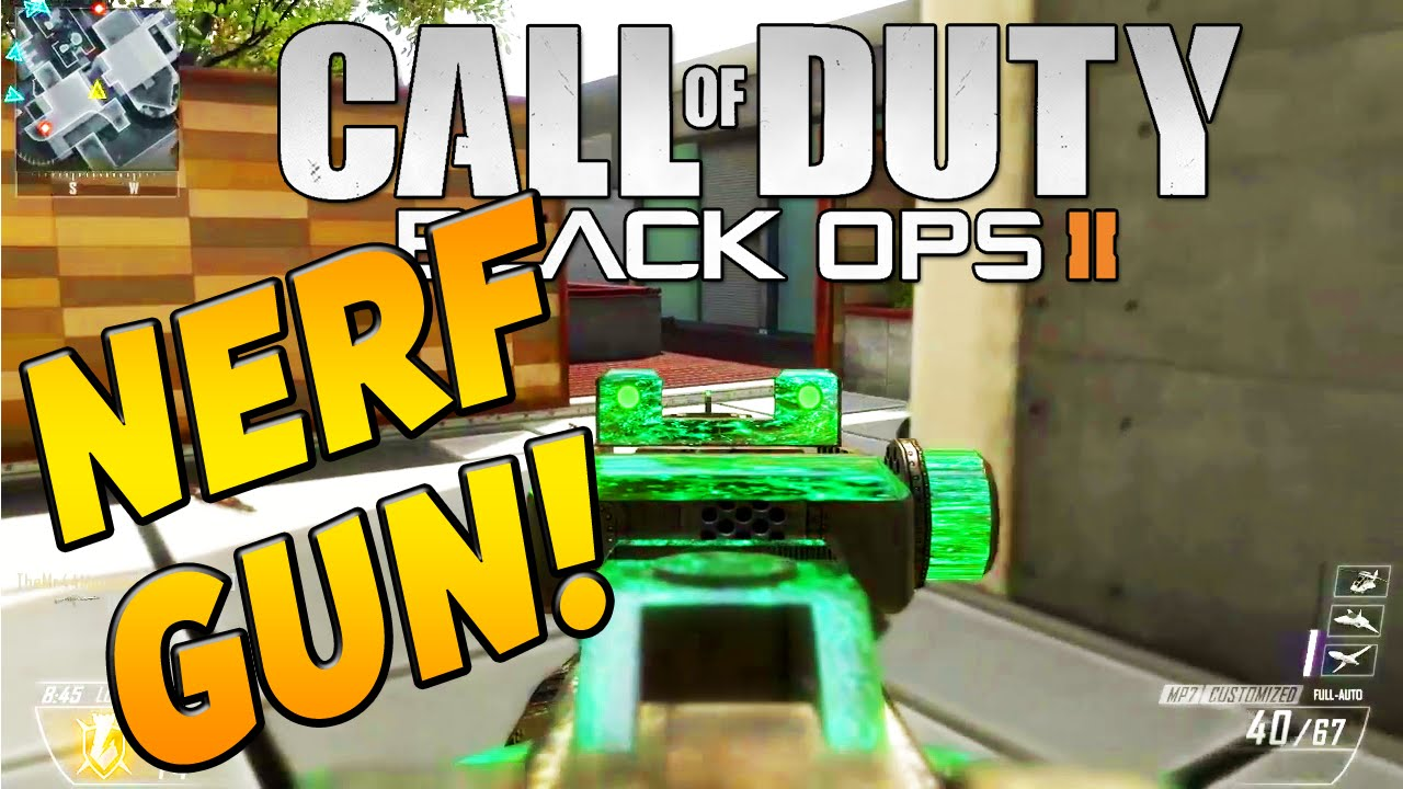 MP7 NERF GUN Call Of Duty Black Ops 2 TBNRKENWORTH