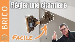 Conseil Bricolage : Comment régler une charnière invisible IKEA