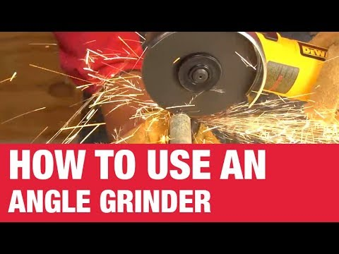 How To Use An Angle Grinder - Ace Hardware