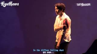 【KyuNews】Kyuhyun musical the days [Although I loved you] English Subtitle thumbnail