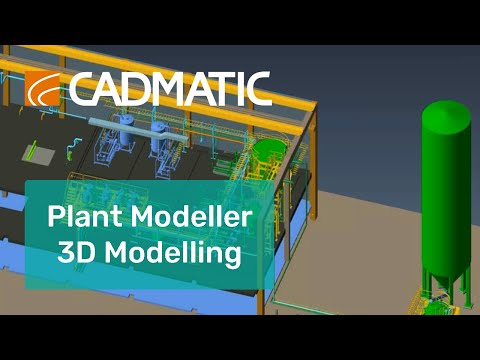 3D Modelling - Cadmatic Plant Modeller