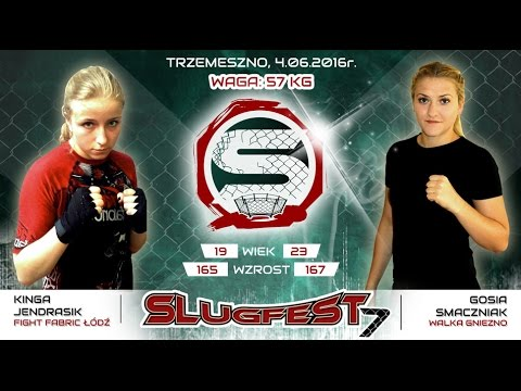 Slugfest 7: Kinga Jendrasik - Małgorzata Smaczniak - YouTube