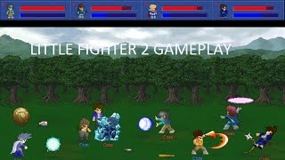 Little Fighter 2 Gameplay Part 1...