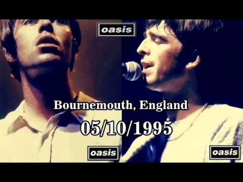 OASIS:International Center,Bournemouth,England (05/10/1995) BEST SOUND