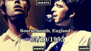 OASIS:International Center,Bournemouth,England (05/10/1995) BEST SOUND Mp3
