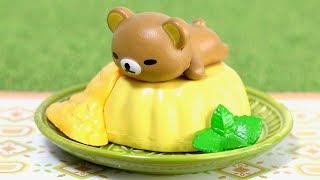 Unboxing Re-Ment Rilakkuma Cold Asian Sweets 1. Flowering Tea 2. Ai...