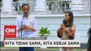 Petani Perempuan Muda Curhat ke Jokowi Soal Keprihatinannya