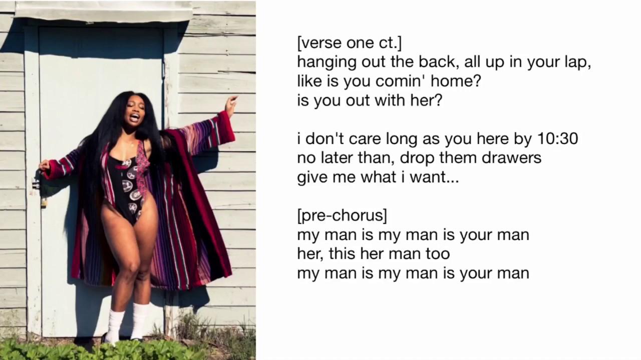 My Man Is Her Man Lyrics