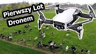 Pierwszy Dzień z DRONEM - Dron DJI Mavic Air  (Vlog #117)