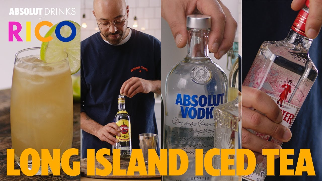 The Perfect Long Island Iced Tea Absolut Drinks With Rico Youtube