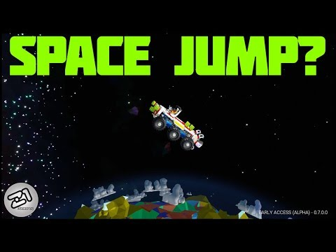 BIGGEST JUMP EVER?! Astroneer Rover Update 7.0 E7 | Z1 Gaming