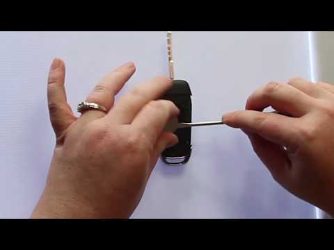 How To Change A 2015 - 2019 Ford-F 150 Key Fob Battery PART # N5F-A08TAA