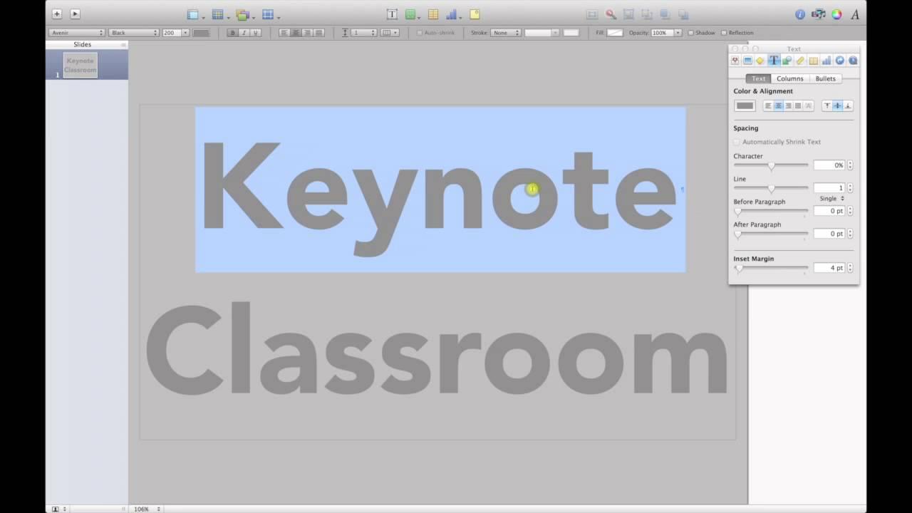 Drawing Lines In Keynote : Apple iwork keynote tips and tricks creating a letterpress effect