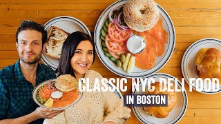 Brunch With Brooke Miccio at Boston's Mamaleh's | Brunch Boys