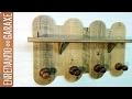 Cómo hacer un colgador con madera de palé