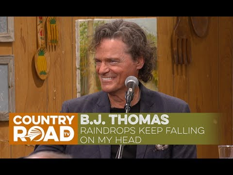 B J Thomas sings Raindrops Keep Falling on My Head