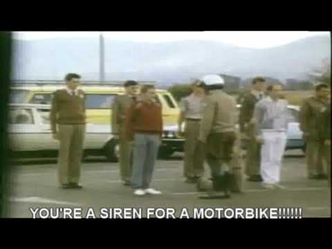 Leon Schuster - Rookie traffic police prank (with eng subtitles)