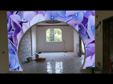 Home Arch Designs Indian Style The Arch Design And The Wall Of Plasterboard Youtube
