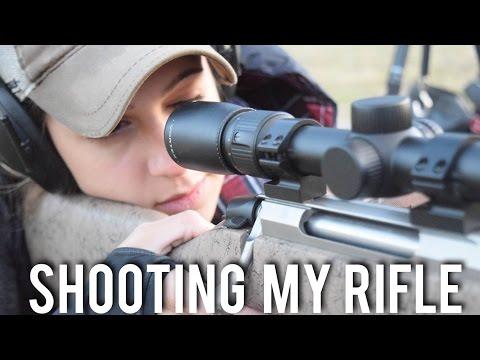Shooting My Hunting Rifle