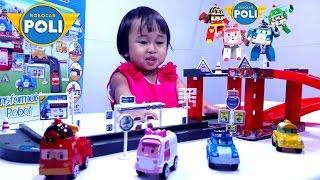 Mainan Anak Mobil Mobilan 💖 ROBOCAR POLI Transformable Robot 💖 Lets Play Jenica
