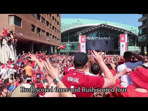 Liverpool Song: Poor Scouser Tommy - By BOSS Jamie Webster UCL Final Madrid