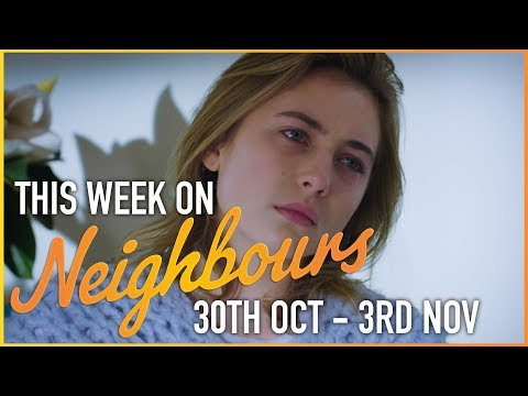 This Week On Neighbours (30th October - 3rd November)