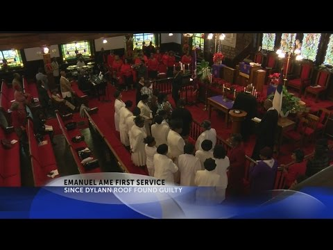 Emanuel AME church service
