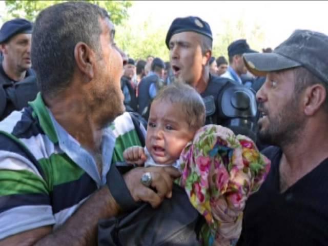 Recogida de portabebés para Siria