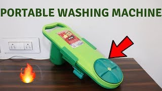 Budget Washing Machine | Portable Washing Machine | Tech Unboxing 🔥
