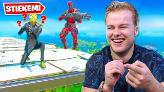MET JETPACK OP ENEMY STAIRWAY LANDEN! 😂 - Fortnite Battle Royale (Nederlands)