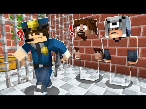 FAKİR GÖRÜNMEZ OLDU HAPİSHANEDEN KAÇTI! 😱 - Minecraft
