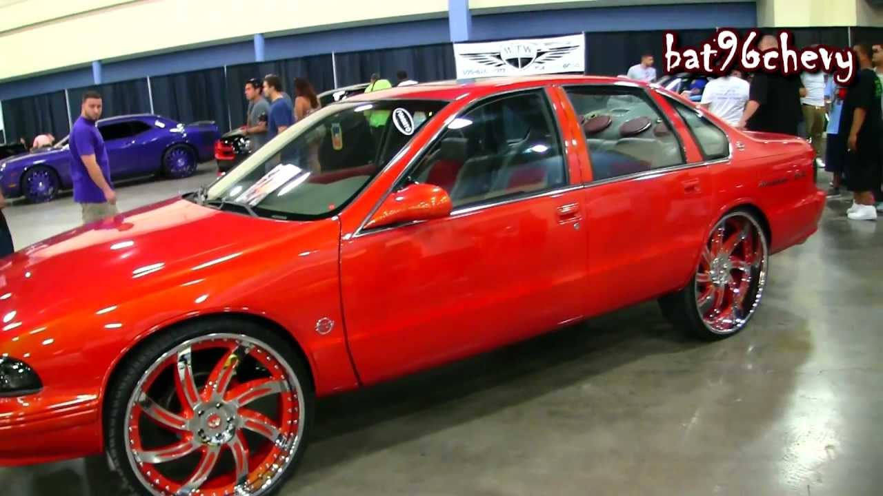 Outrageous 96 Impala Ss On 26 Quot Forgiatos Wheels 1080p Hd