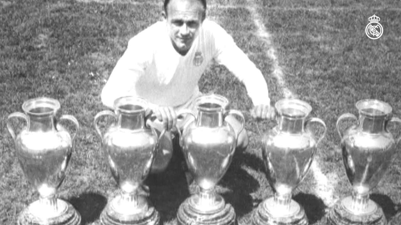 this day in 1989 Di Stéfano won the Super Ballon d