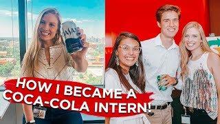 How I Became a Coca-Cola Summer Intern! // End of Summer Q+A and Recap