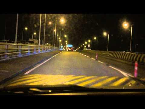 From Shenzhen, China to Hong Kong by Car.