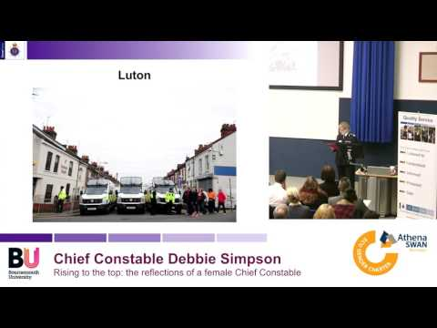 Rising to the top: reflections of a female Chief Constable
