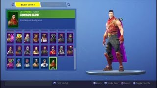 Fortnite: Battle Royale - New Back Bling - Spirit Cape (Dante) On 44 different skins