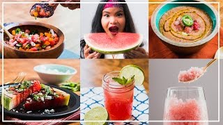 Watermelon 5 Ways l Jen Phanomrat