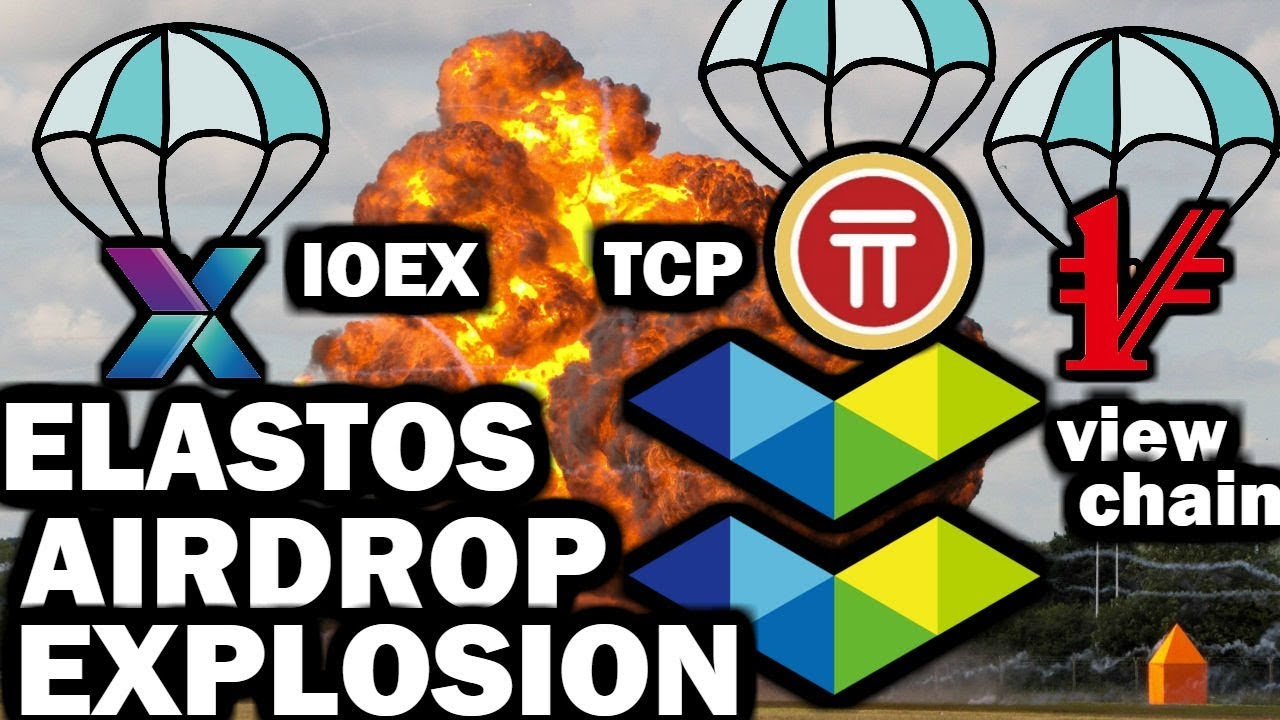 Elastos Airdrop Bomb | Viewchain, IOEX, TCP + more | Bosch+Elastos?? | $ELA Democracy?