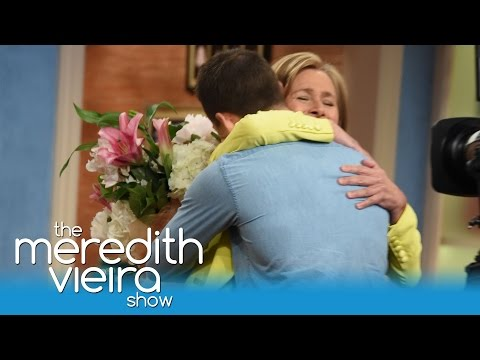 Meredith Receives A Mother's Day Surprise! | The Meredith Vieira Show