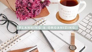 A Week Of Planning & Organizing My Life