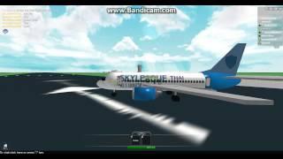 roblox thai airways international boeing 737-500 first flight part 1