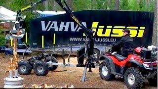 Vahva Jussi - 52kg energy wood head max cut 12cm(, 2013-03-21T13:25:15.000Z)