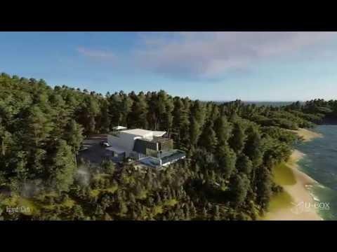 LUMION Architectural animation(Island club) 尤阳作品(by YouYang)