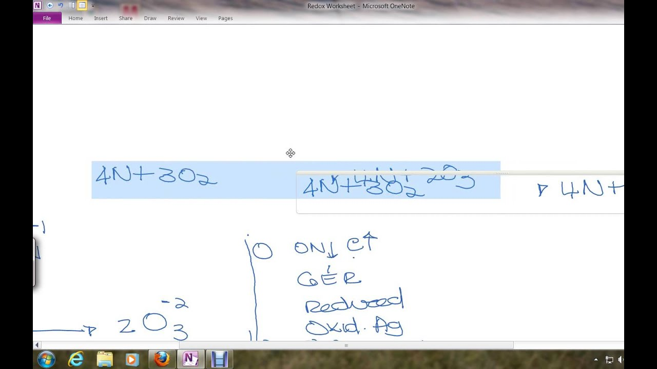 Workbooks redox worksheets : Worksheet Redox Part1 - YouTube