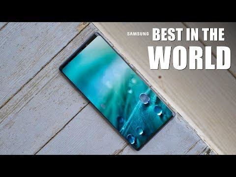 Samsung Galaxy Note 9 Officially Became THE BEST IN THE WORLD