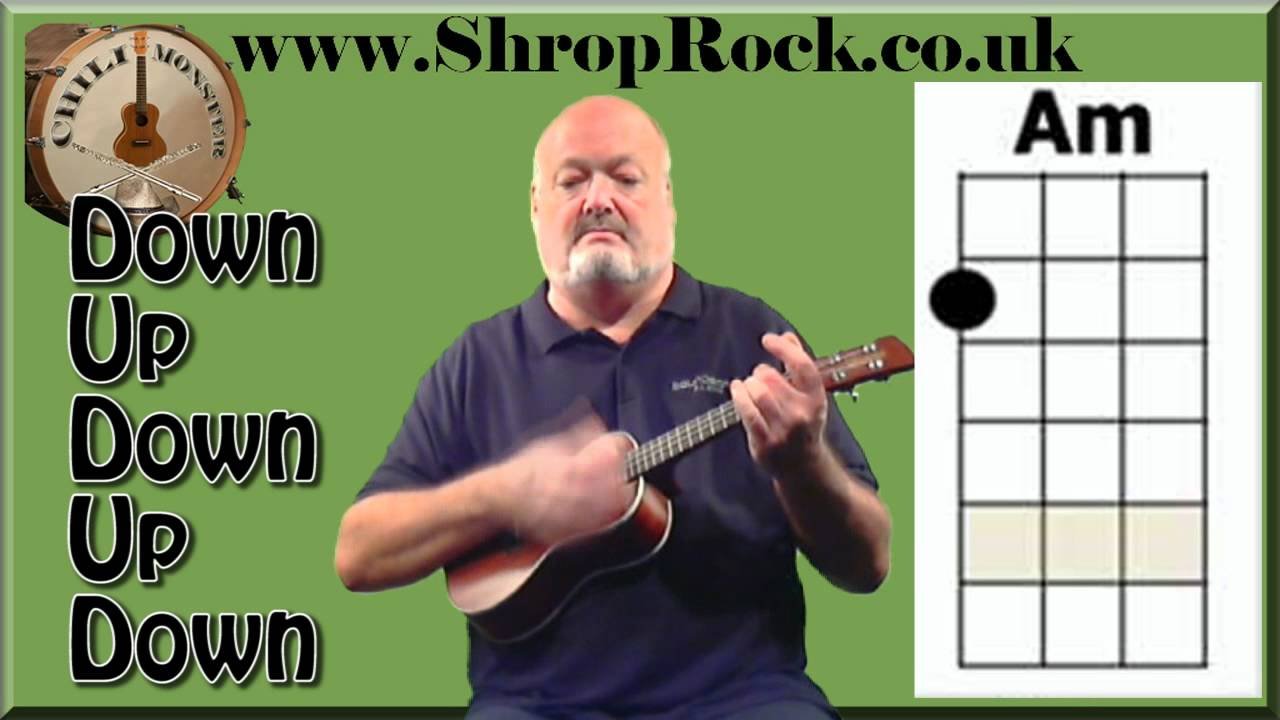 How to play really easy ukulele 1a strumming pattern youtube hexwebz Images