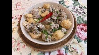 [家常小菜] 蒜蓉豆豉豆卜蒸排骨