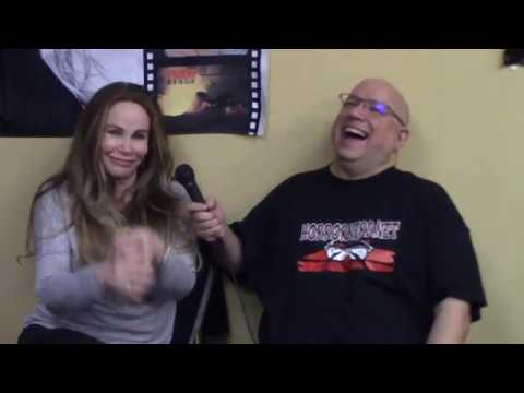 Tawny Kitaen at NJ Horror Con & Film Fest, March 2018